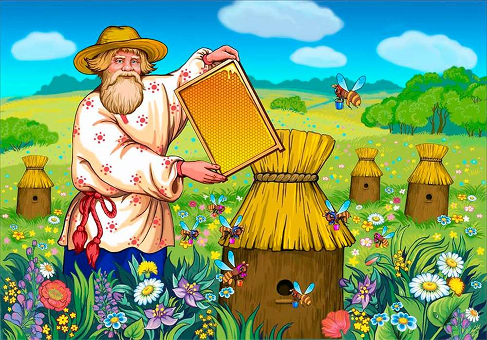 Как дьякона мёдом угощали