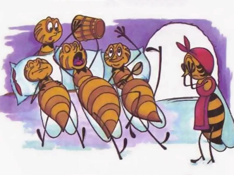 Пчёлы и трутни